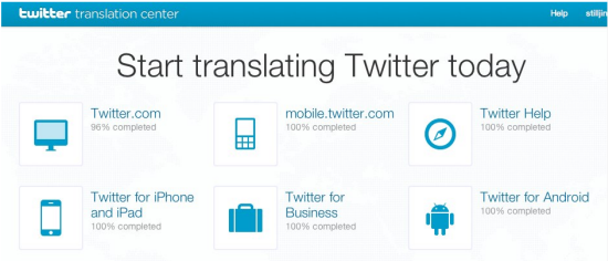 Twitter translation service into more languages