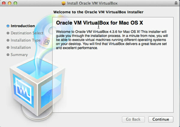 virtual_box_installation_install android os on pc, mac or linux
