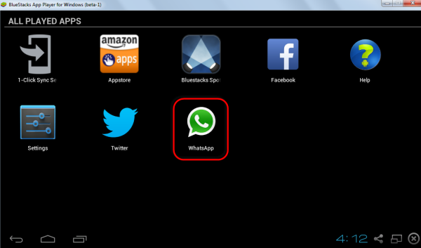 watsapp installed - run whatsapp on pc